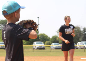 Triple the fun at 3T's Softball Clinic!