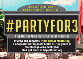 Are you ready to party for a cause?! #PARTYFOR3