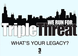 Big high-5s to Bank of America Chicago Marathon runners that repped 3T!