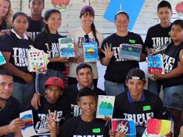Triple Threat Mentoring makes a splash in Nicaragua