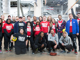Triple Threat Mentoring teams up with Special Olympics Chicago for Opening Ceremonies